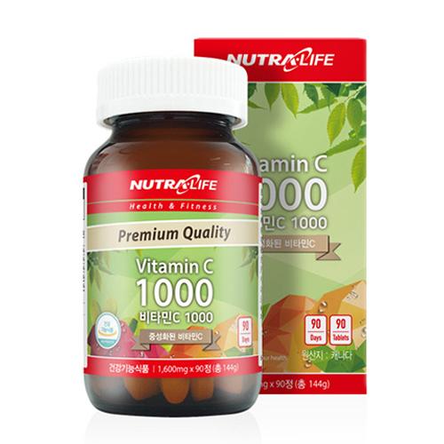 [내가 선택한 이유] 비타민c  - 뉴트라라이프 비타민C 1000, 144g,  (With '집콕 소식)