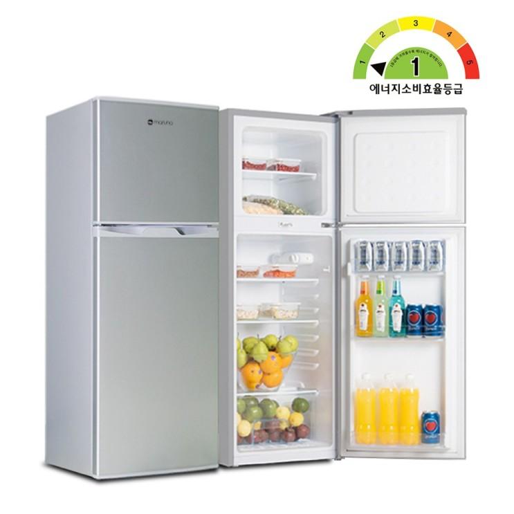 [내가 선택한 이유] 일반형 냉장고 1등급  - 마루나 냉장고 특급배송, BCD-138HS(1등급/메탈실버)  (With 수출용코로나진단키트명을 소식)