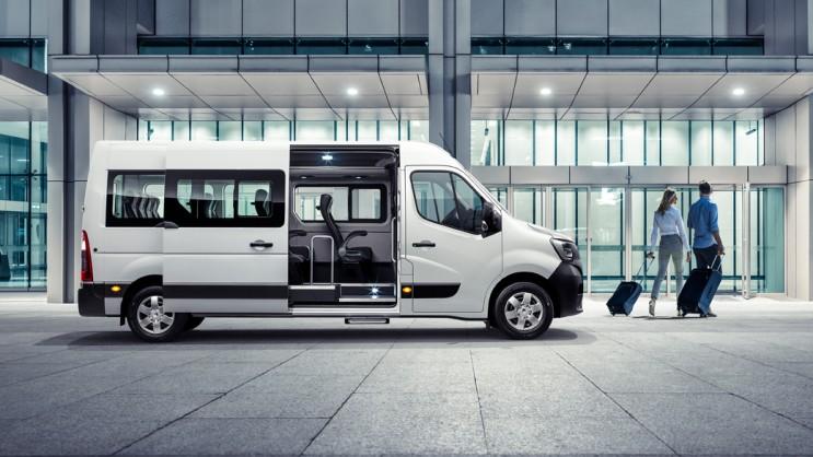 2020 르노 마스터 신형 출시, 밴,  버스 13인승/15인승 부분 변경 모델 출시 가격 2999만원 부터