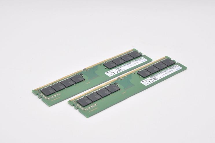 데스크탑PC 메모리 삼성전자 DDR4 16G PC4 21300 후기