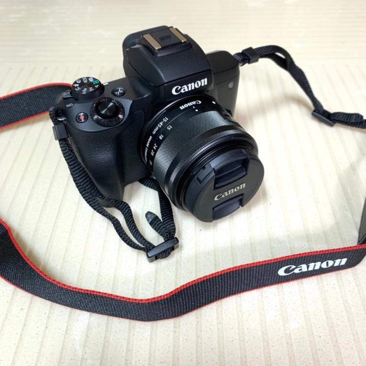 [카메라] 면세점보다 싸게 구입한 나의 첫 번째 캐논 미러리스 : Canon EOS m50 (feat. 일렉트로마트 센텀시티점)