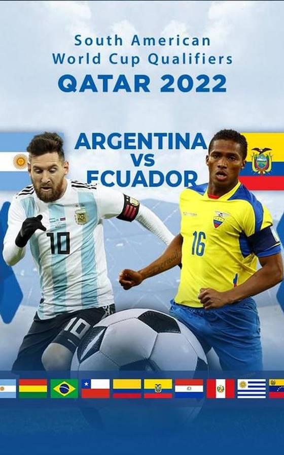 아르헨티나 에콰도르 축구 중계 월드컵 남미예선 시작
