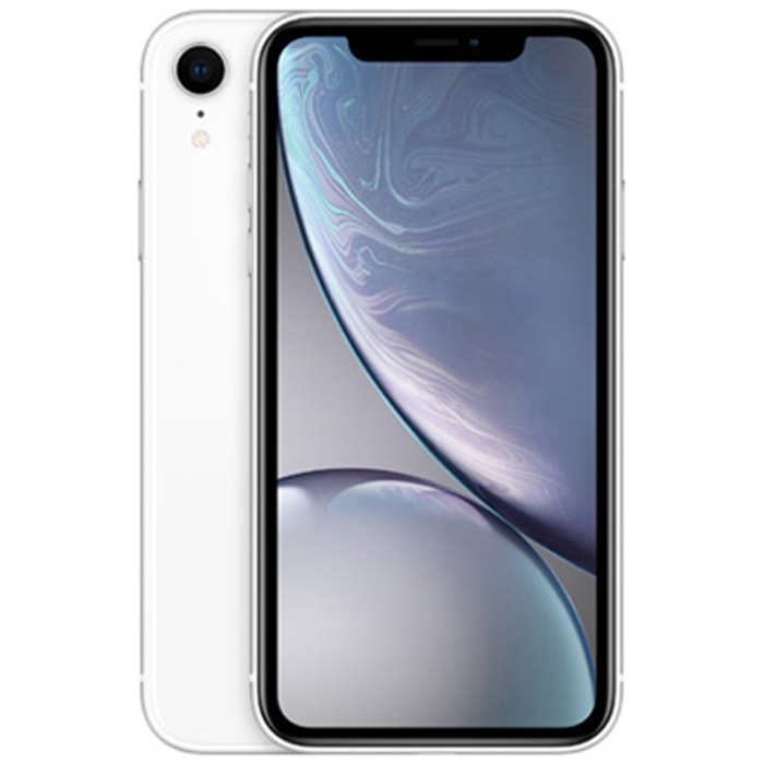 Apple 아이폰 XR 6.1 디스플레이, 화이트, 64GB