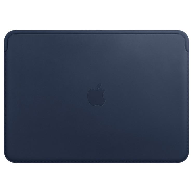 Apple 정품 가죽 슬리브 맥북 프로 13, 미드나잇 블루(MRQL2FE/A)