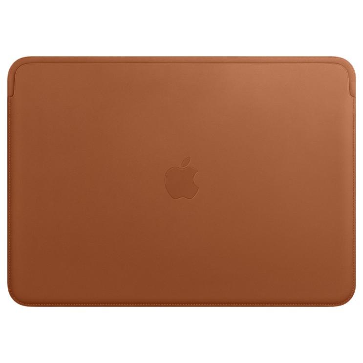 Apple 정품 가죽 슬리브 맥북 프로 13, 새들 브라운(MRQM2FE/A)