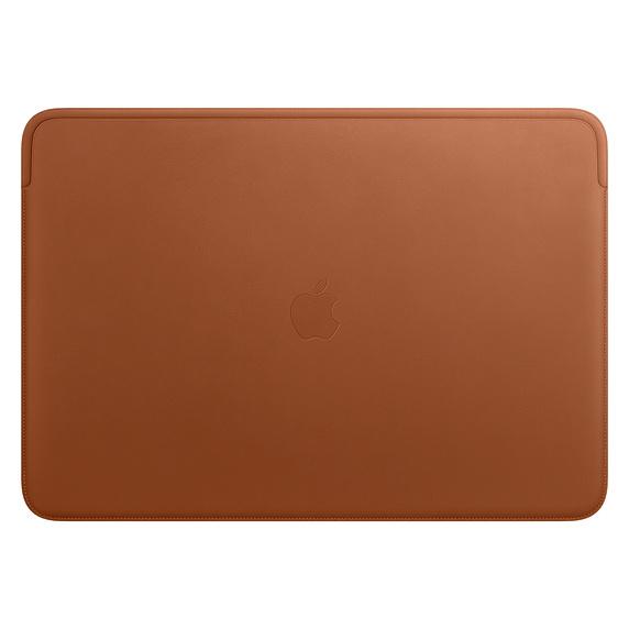Apple 정품 맥북 프로 16 가죽 슬리브, 새들 브라운(MWV92FE/A)