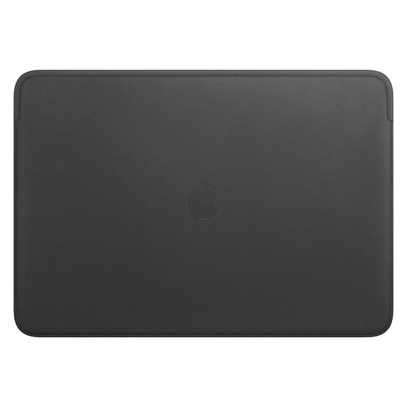 Apple 정품 맥북 프로 16 가죽 슬리브, 블랙(MWVA2FE/A)