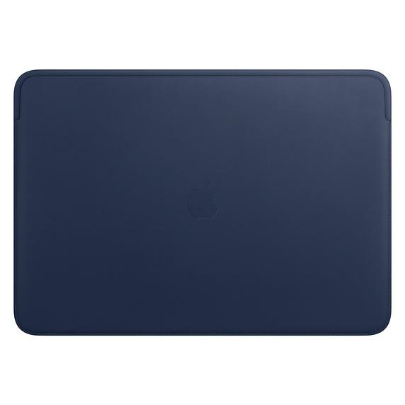 Apple 정품 맥북 프로 16 가죽 슬리브, 미드나잇 블루(MWVC2FE/A)