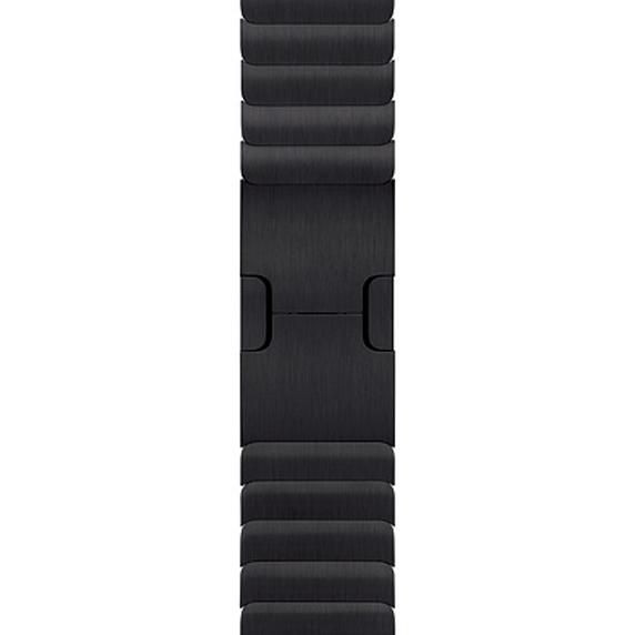 Apple 정품 애플워치 3/4/5 링크 브레이슬릿, 38/40mm, Space Black