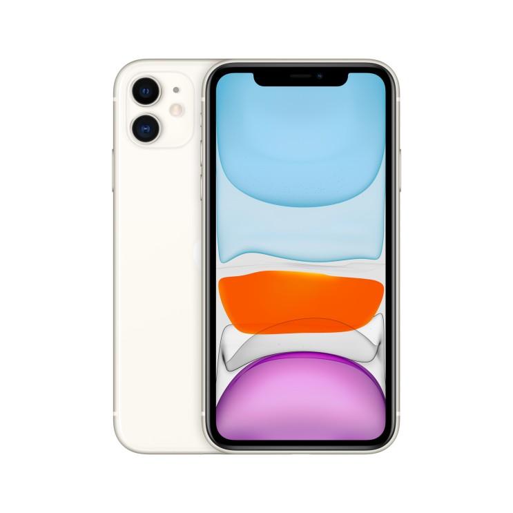 Apple 아이폰 11 6.1 디스플레이, 공기계, White, 64GB