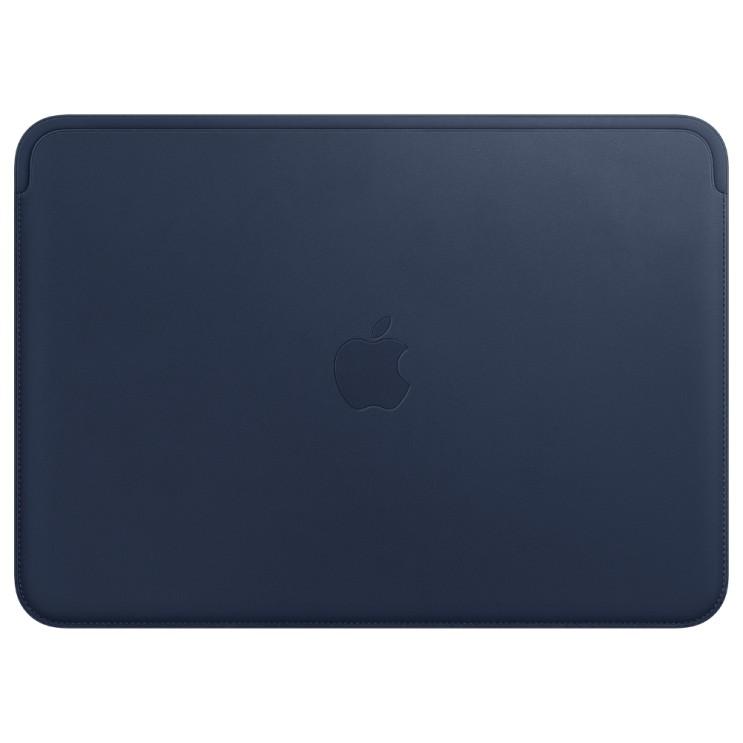 Apple 정품 가죽 슬리브 for 12 맥북, 미드나잇 블루(MQG02FE/A)