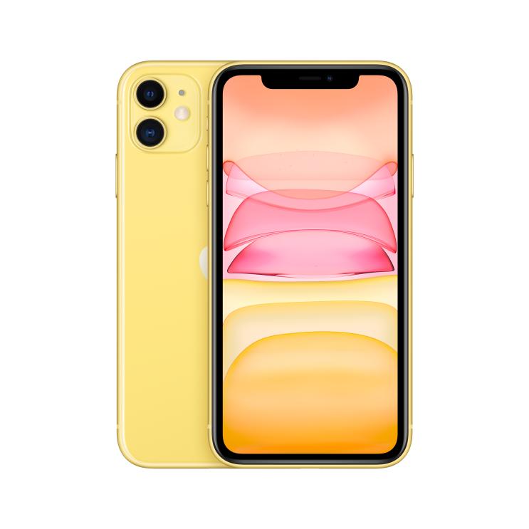 Apple 아이폰 11 6.1 디스플레이, 공기계, Yellow, 64GB