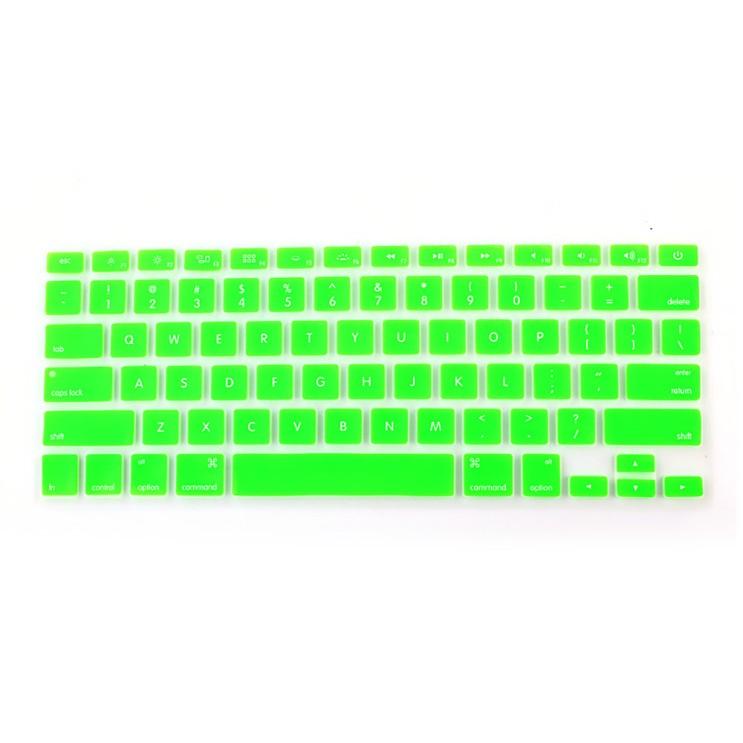 DM 알럽컴 맥북 키보드 보호 커버 A1706/A1707용, 형광그린, 1개