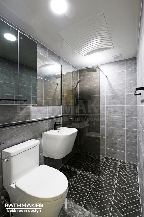 의정부시 금오동 파스텔 아파트 헤링본 욕실리모델링