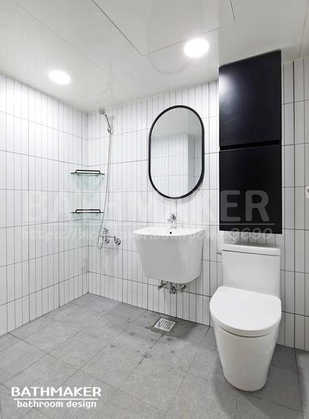 구리시 욕실인테리어) 수택동 동명아파트 욕실리모델링