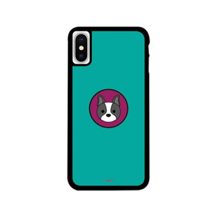 그래비 아이폰12 퍼피독 스마트톡 알룸 핸드폰 케이스 - [ 강아지 / 캐릭터 범퍼 그립톡 ]