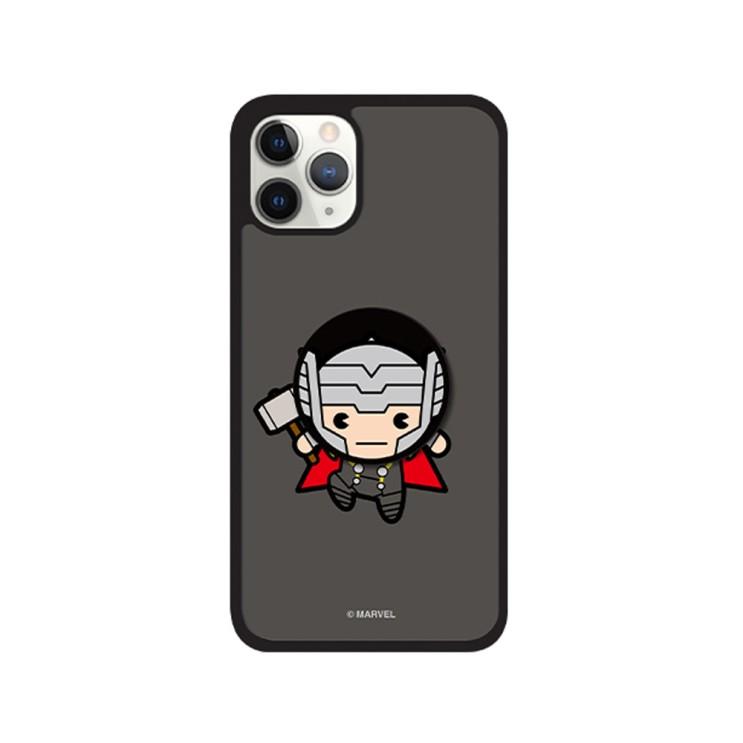 마블 아이폰12 카와이 시리즈 01 스마트톡 알룸 핸드폰 케이스 - [ 어벤져스 / 캐릭터 그립톡 범퍼 ]