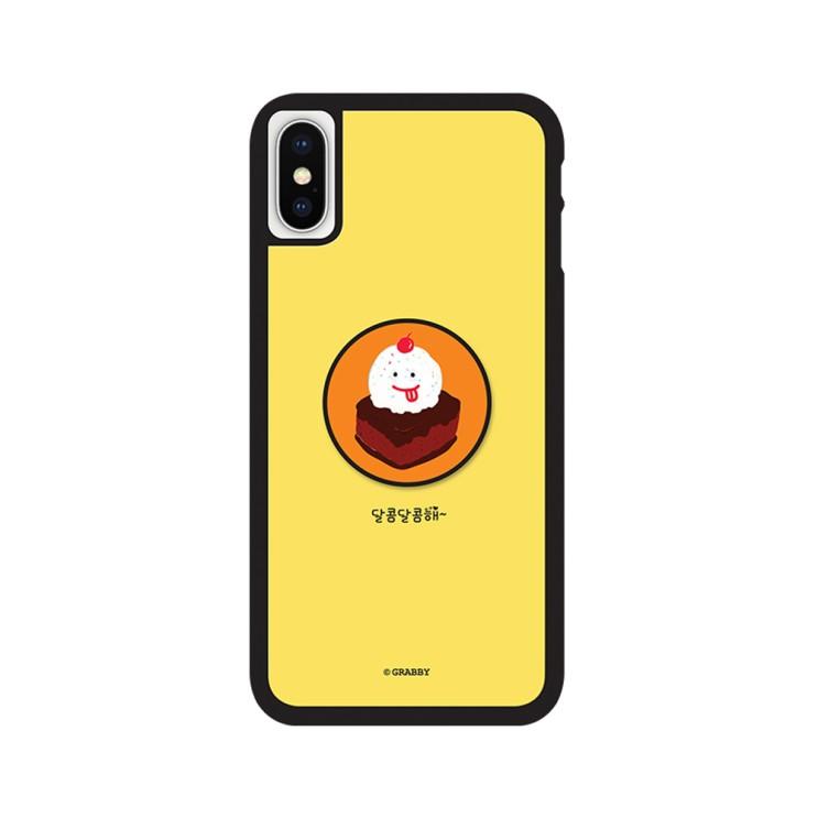 그래비 아이폰12미니 베이커리 스마트톡 알룸 핸드폰 케이스 - [ 심플 / 그립톡 범퍼 ]