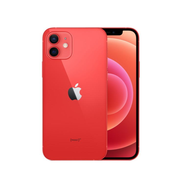 Apple 아이폰 12, 공기계, Red, 64GB