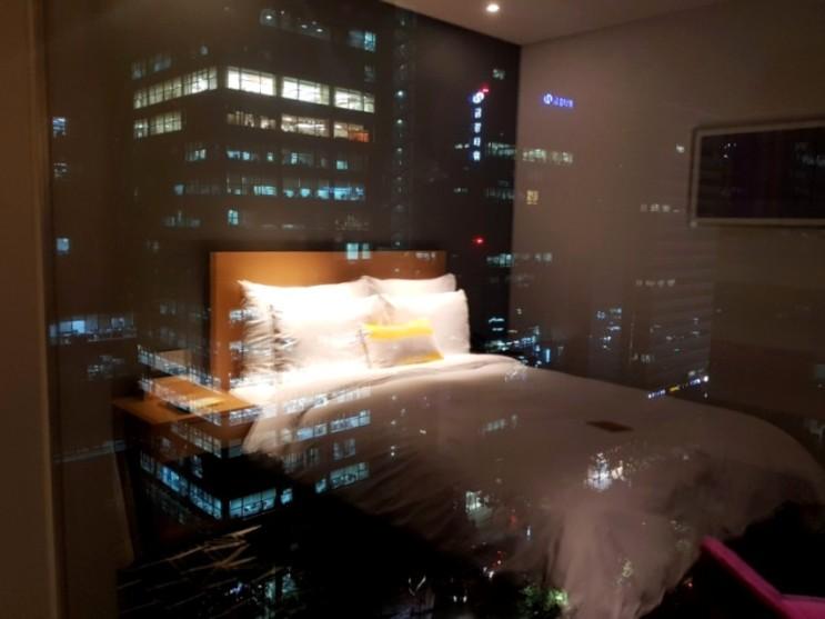 서울 선릉 L7 강남 바이 롯데 호텔 슈페리어 더블룸 네이버패키지 냉정한 후기
