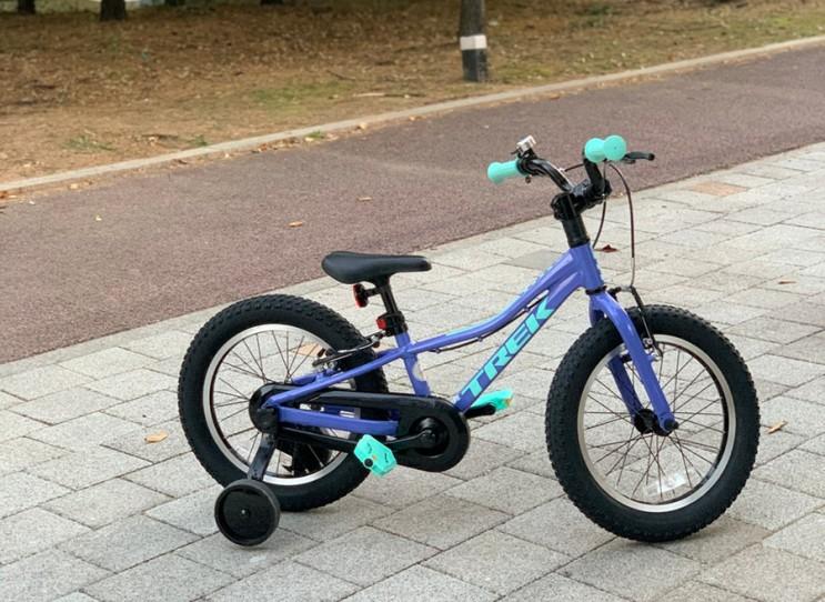 트렉 TREK 2021 아동용 자전거 프리칼리버 16인치 구매 후기
