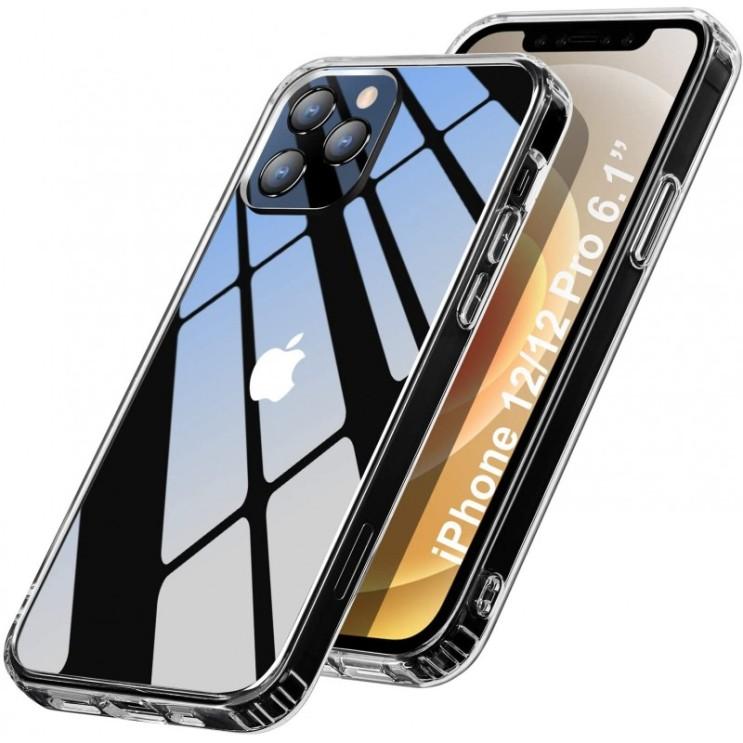 아이폰에 대 한 Wonantorna 커버 12/ 아이폰 12 PRO 6 1â [안티 옐로우] [200% 가을 보호] 경질 PC + 아이폰에 대 한 유연한