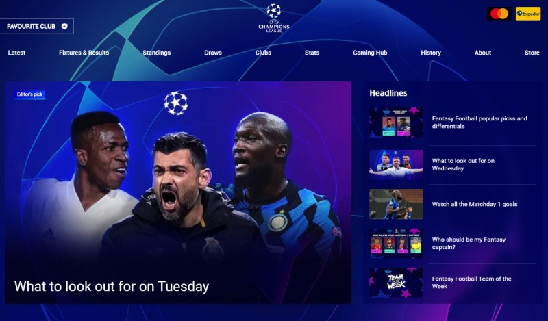 2020-2021 UEFA 챔피언스리그