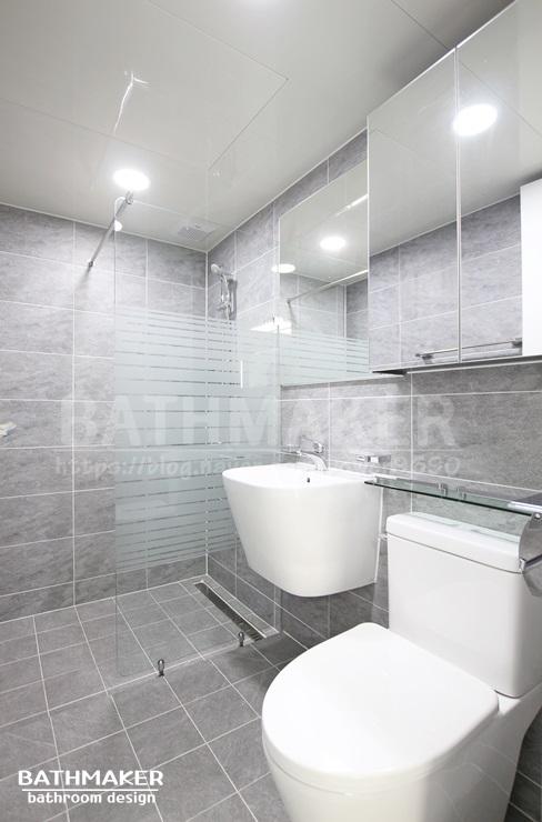 서울시 욕실인테리어) 성북구 삼선동 푸르지오 안방욕실 리모델링