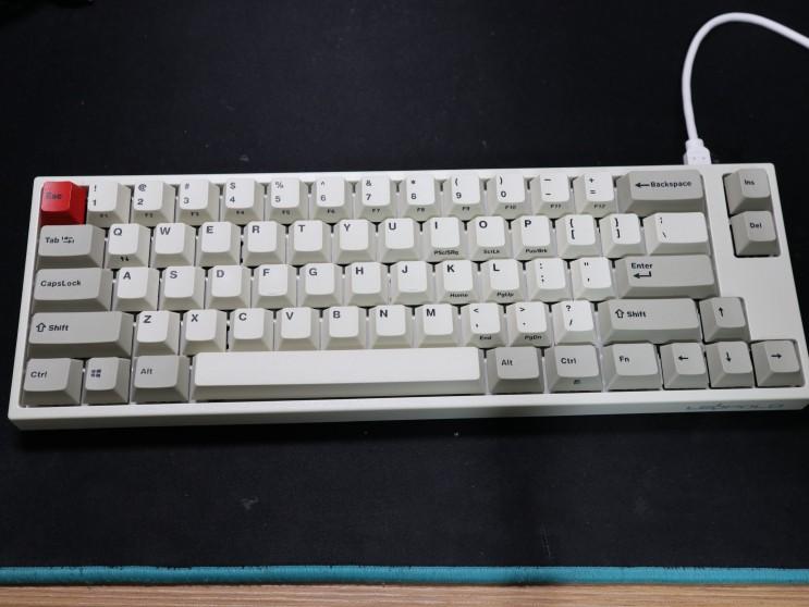 [리뷰] 레오폴드 FC660M PD 키캡교체(엔터 Fn)