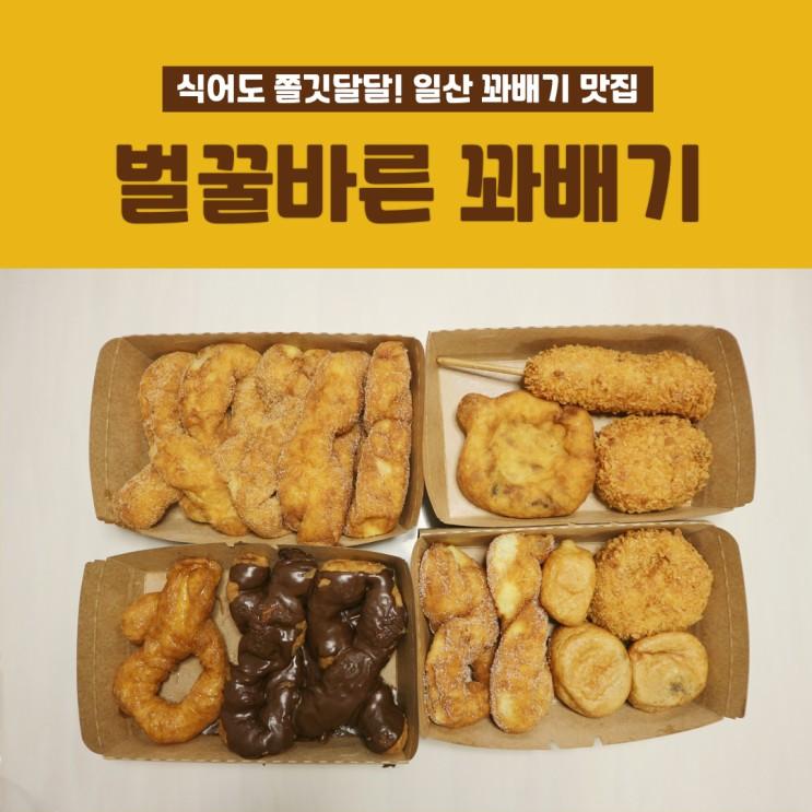 [대화역 맛집] 식어도 쫄깃달달 일산 꽈배기 맛집 '벌꿀바른 꽈배기'