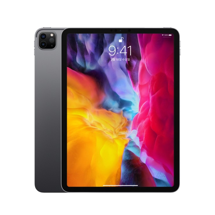 Apple 2020년 iPad Pro 11 2세대, Wi-Fi, 128GB, Space Gray