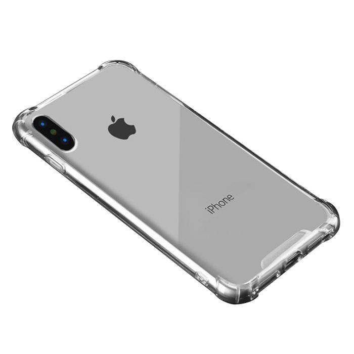 플럭스 아이폰 불사 케이스 투명