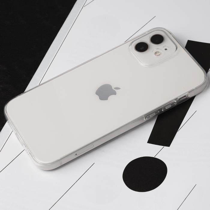 아이폰 12 투명 케이스 강화유리 및 케이블 단선방지 캡 서비스