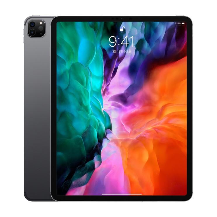 Apple 2020년 iPad Pro 12.9 4세대, Wi-Fi+Cellular, 256GB, Space Gray