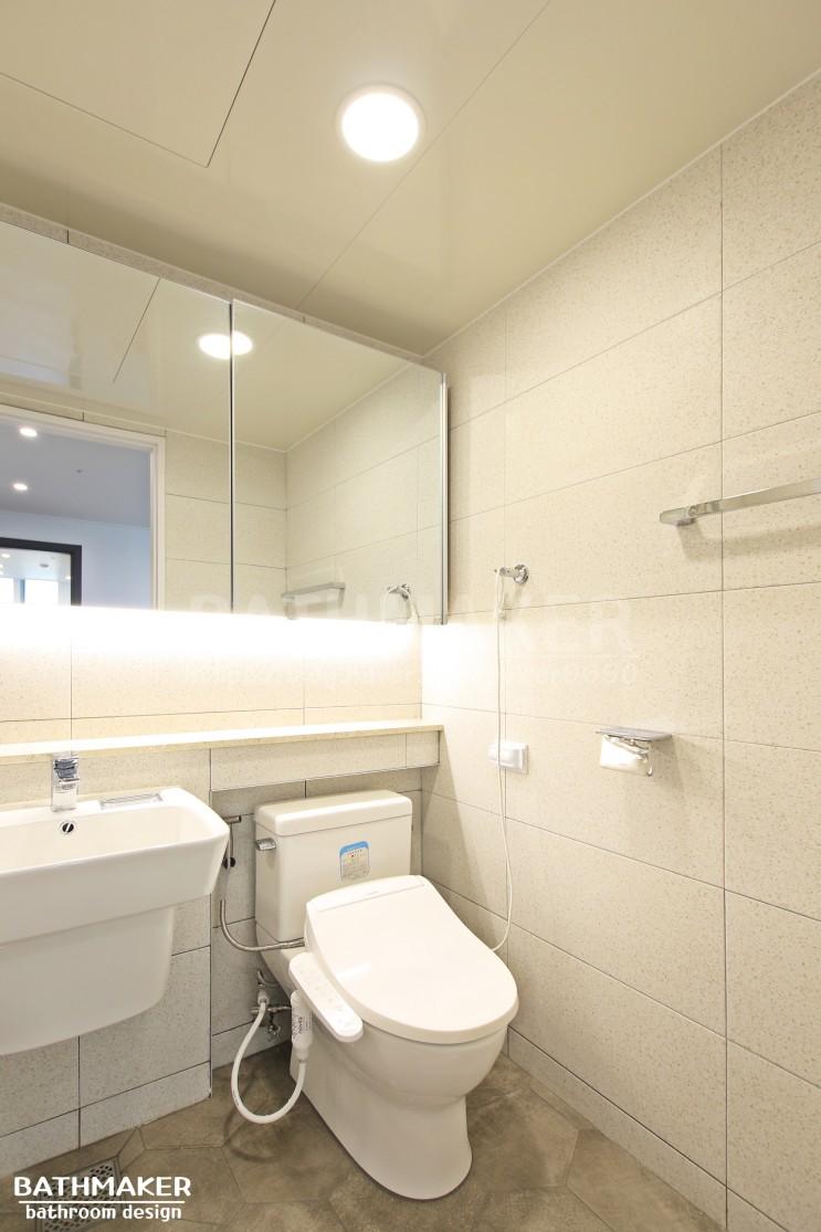 노원 중앙하이츠아쿠아 욕실인테리어 (안방)