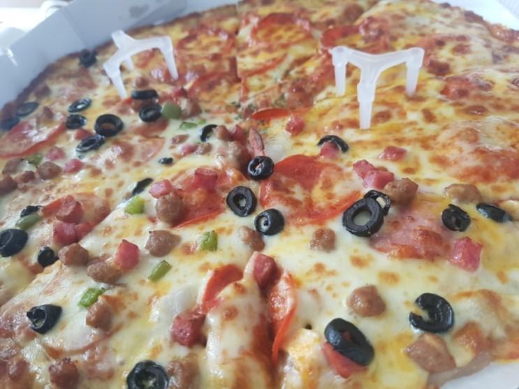 나른한 주말 점심으로 배달음식으로 피자배달 어떠세요