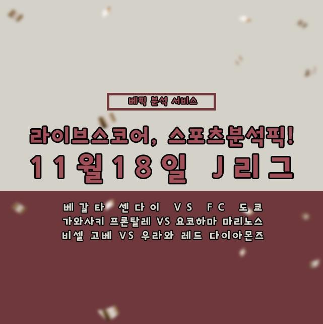 11월18일 J리그