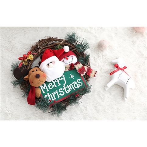 [할인제품] 행복한마을 펠리스라운드 크리스마스 리스 LED등 2020년 11월 27일 기준 19,800 원
