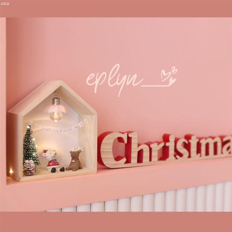 [추천특가] 이플린 크리스마스 원목 우드집 트리 선물상자 풀세트 2020-11-27기준 24,740 원 ~