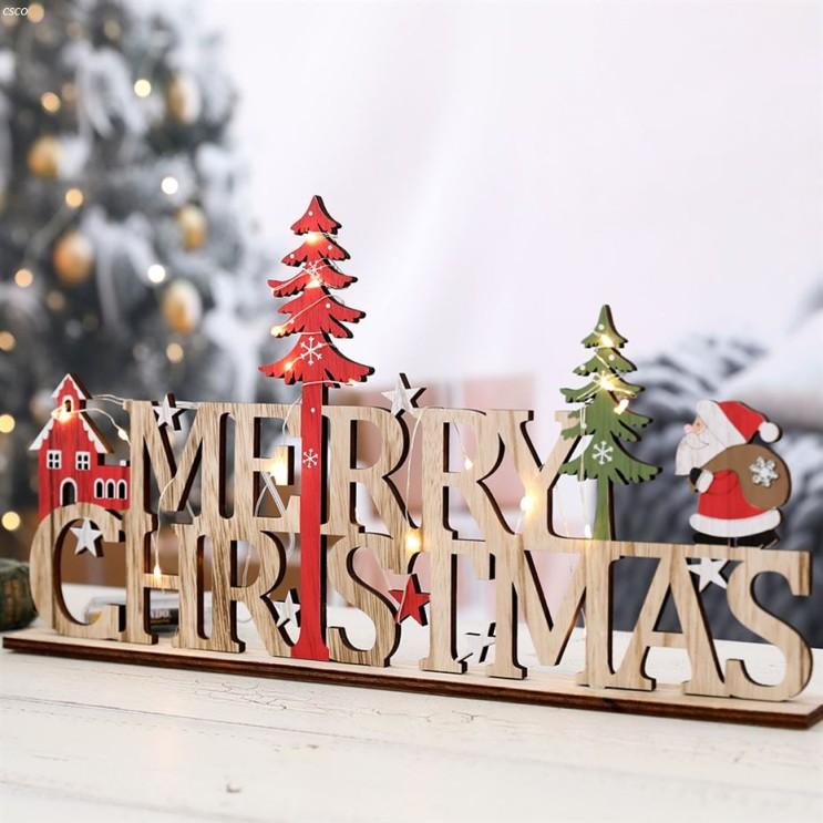 [할인정보] 행복한마을 크리스마스 데코소품 크리스마스우드 사인 받침 세무줄 LED 전구 2020년 11월 27일자 12,800 원!