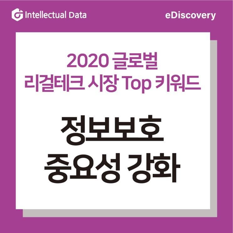 2020 글로벌 리걸테크 시장 Top 키워드 3_정보보호 중요성 강화