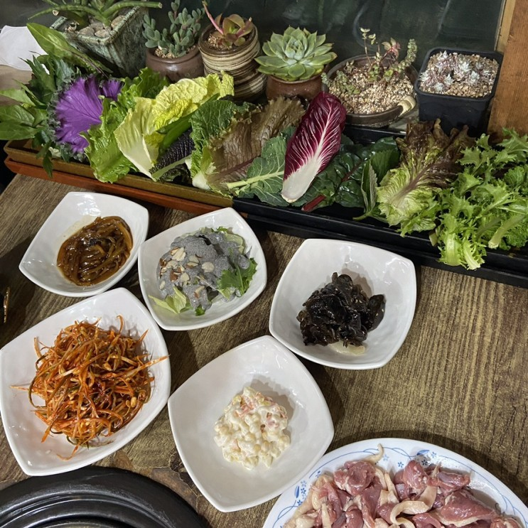 [안산/사동]웰빙쌈밥 전문점 모든반찬이 맛있는곳! 지역주민맛집 댕이골 '삼수갑산'