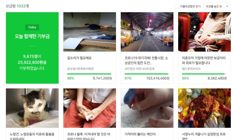 2020 네이버 해피빈 콩 기부 / 1일1 포스팅의 목적