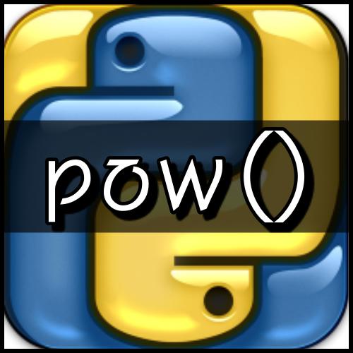 [파이썬] 토막상식 : pow() 함수
