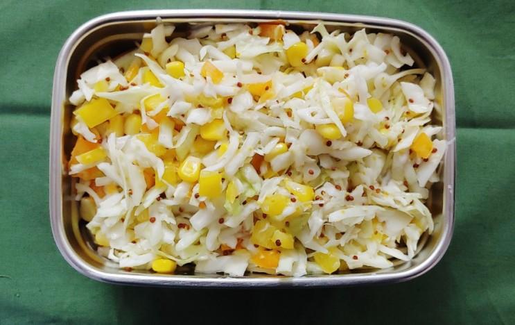 [간식] 양배추코울슬로,햄버거집 코울슬로, 양배추 샐러드, 양배추 활용
