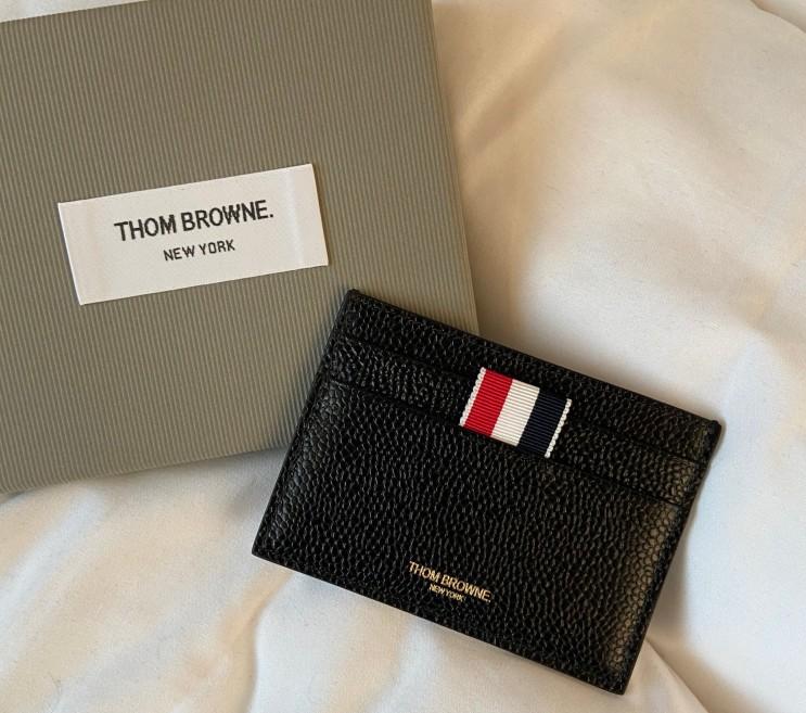 톰브라운 카드지갑(MAW020L00198) 파페치 직구 후기 (내돈내산)