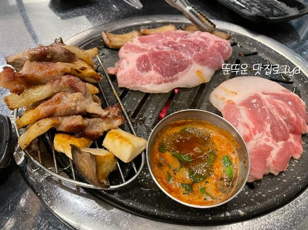 야음동고기집 / 야음동회식 / 꼬들꼬들한 식감의 뒷고기맛집 '나씨네뒷고기'