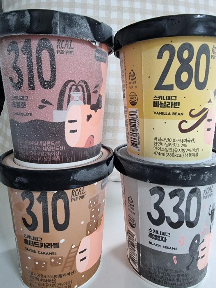 스키니피그 칼로리낮은, 저칼로리 아이스크림