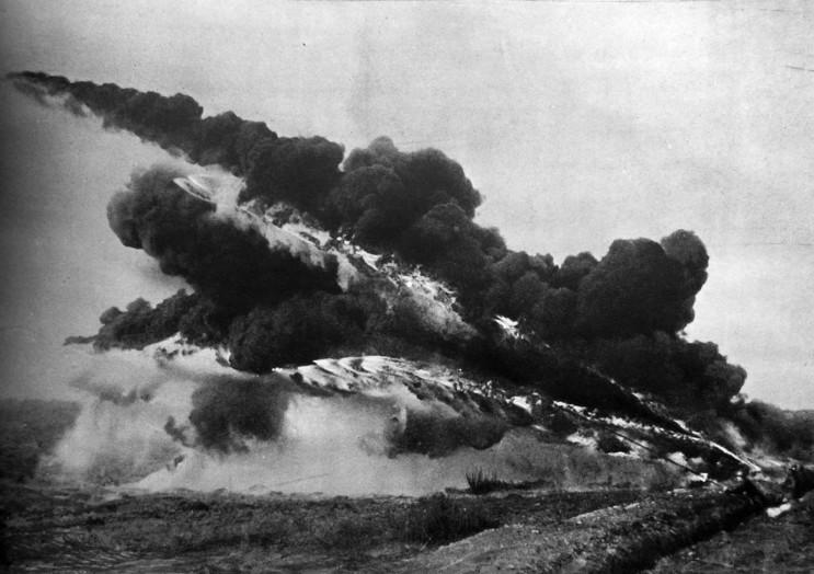 1차 세계대전의 무서운 화염 방사기