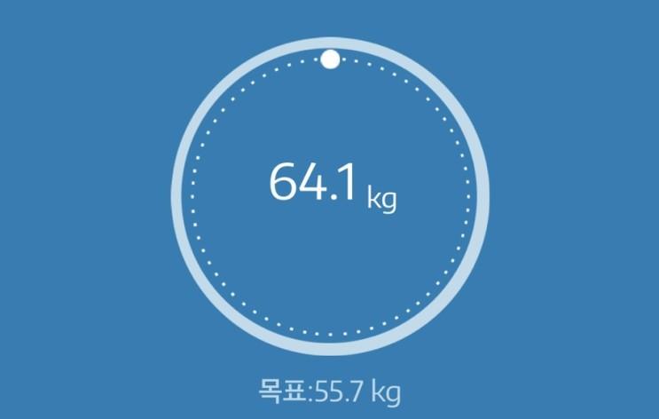 누베베 감비엑스 다이어트 식단 57일차